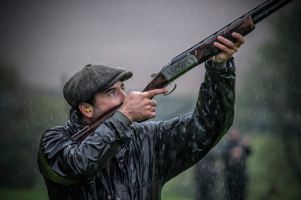Mark Winser, game shooting at Warter Priory